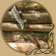 LARP Single bladed axe